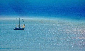 Sailing off the Gulf of Mexico, Florida