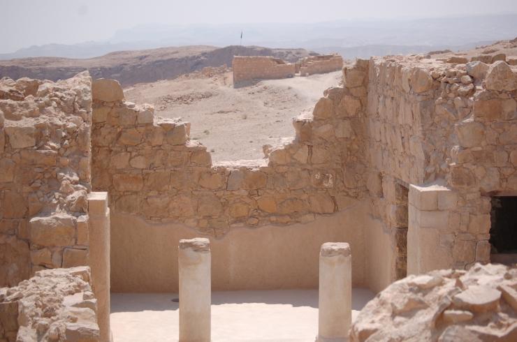 Israel on top of Masada