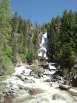 Fish Crrek Falls in Colorado, US
